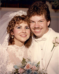 Deborah and Simeon Amburgey as of August 23rd, 1986